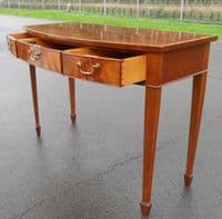 SOLD - William Tillman Bowfront Serving Console Table